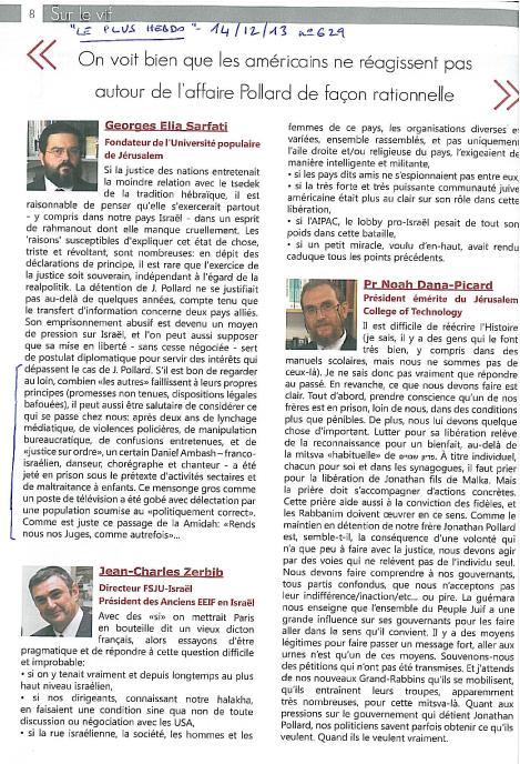 Le Plus Hebdo  n°629 - 14/12/13