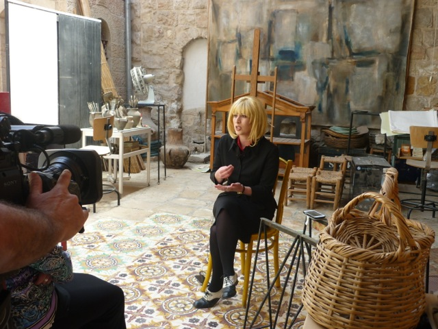 Shiran Ambash, interviewed by TV, chanel 10, March 2016