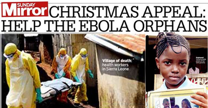 The Sunday Mirror launches their 2014 Christmas Appeal in support of Street Child