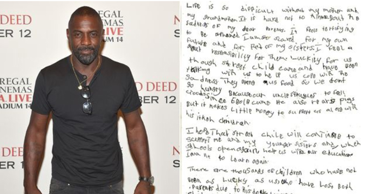 Idris Elba lends his support and an emotional plea from one of our beneficiaries