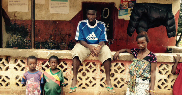 Our second feature focuses on a case-study focussing on Osman Kamara from Sierra Leone