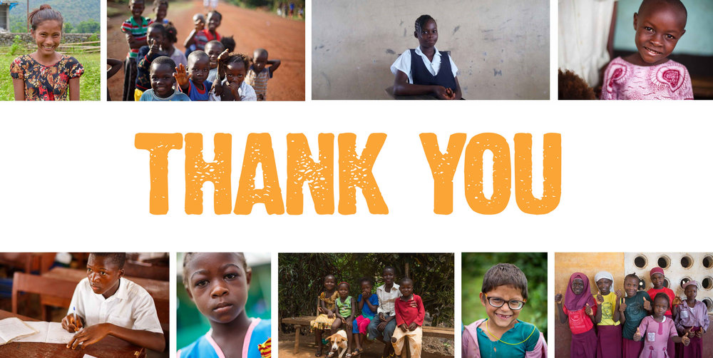 Thank You from Street Child