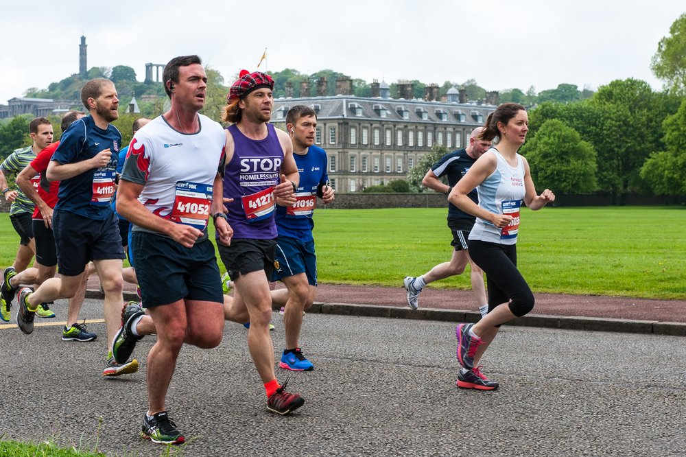 Run the Edinburgh marathon for Street Child