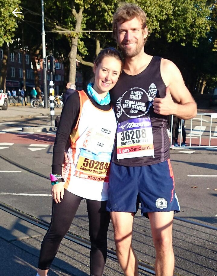 Run the Amsterdam marathon for Street Child - charity places available