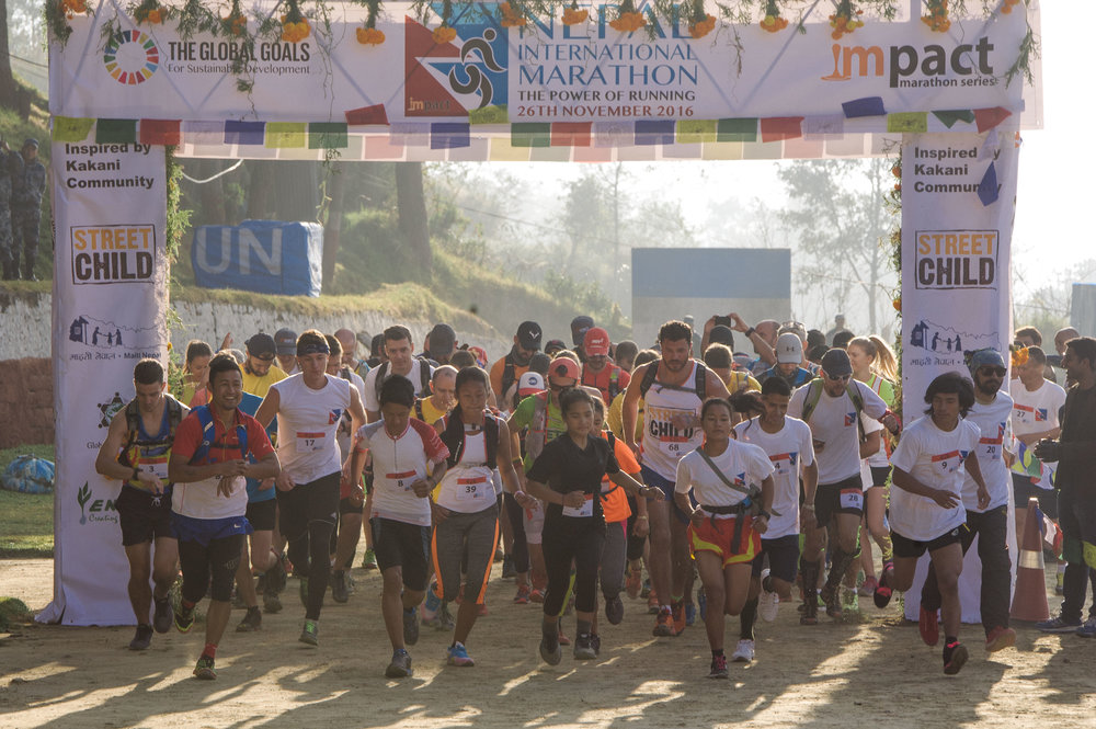 Run the Nepal Marathon for Street Child - Charity Places available