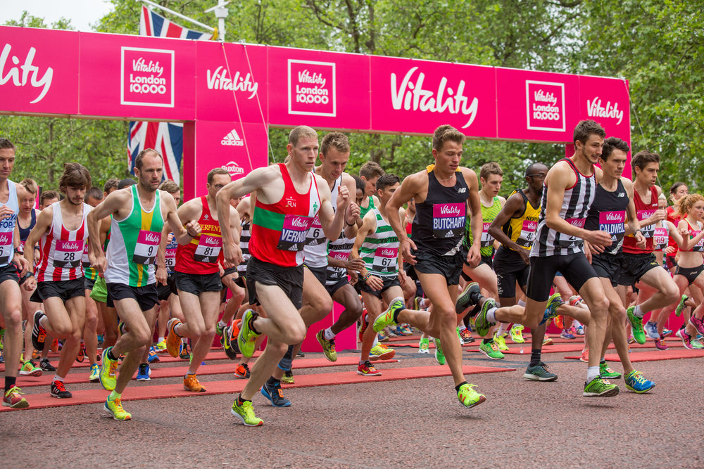 Run the Vitality 10,000 and take part in this great charity 10K race for Street Child - places available!