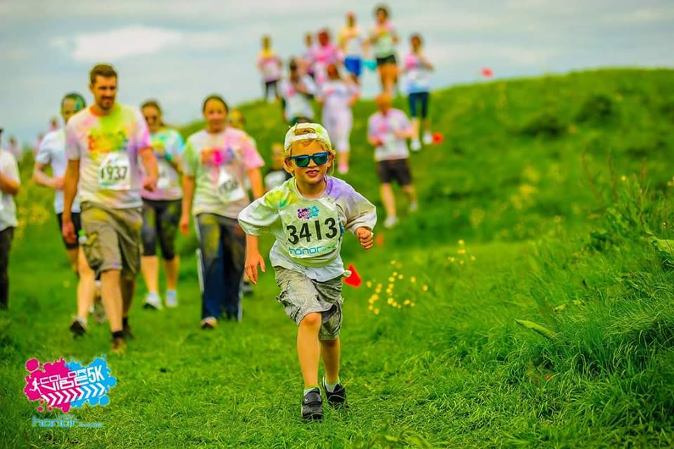 Join Street Child for this awesome (and colourful!) 5K fun run - guaranteed charity places available!