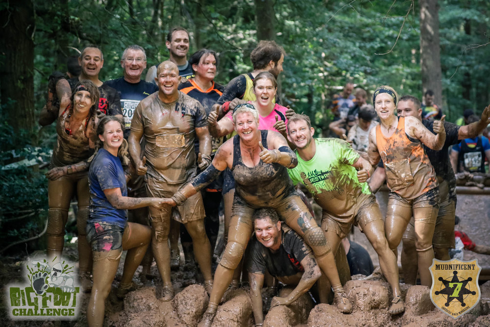 Take part in the Mudnificent7 - the most fun obstacle race in the UK; guaranteed charity places available