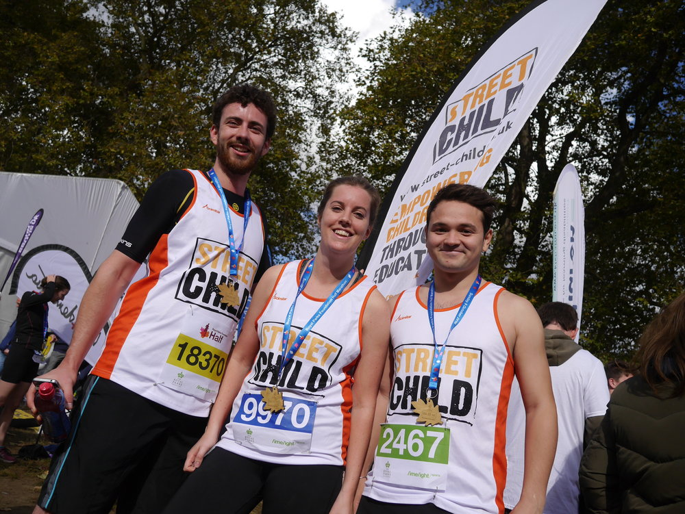 Take on Royal Parks Half Marathon - Charity Places Available for Street Child