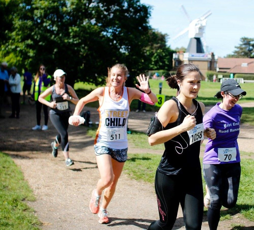 Run the Manchester Half Marathon for Street Child - guaranteed charity places available