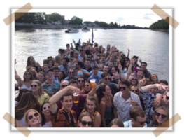 Fundraising can (and should!) be fun - check out Sierra 260's boat party!
