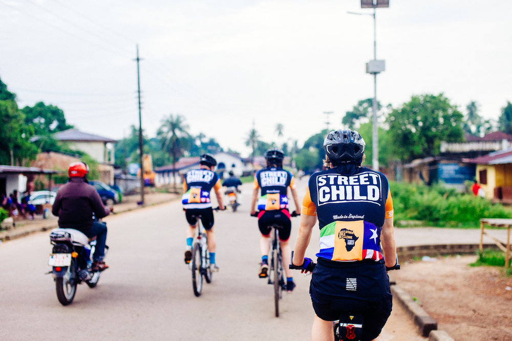 The 186-mile bike ride that's changing lives (and thrilling travellers) in West Africa via The Telegraph