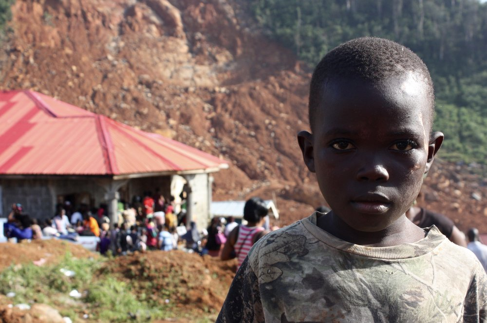 Street Child Sierra Leone Flooding