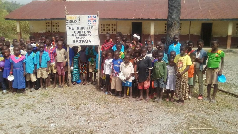 Sponsor and Name a School with Street Child Charity for a unique, personalised gift for someone you love.