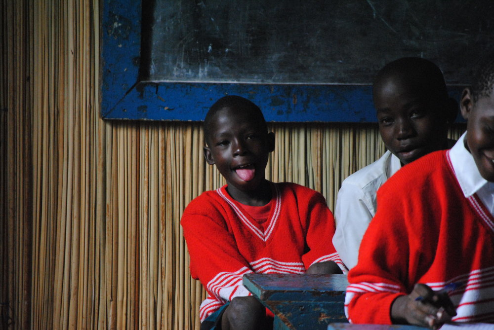 Street Child are working in Uganda to support refugee children and street children to go to school and learn.