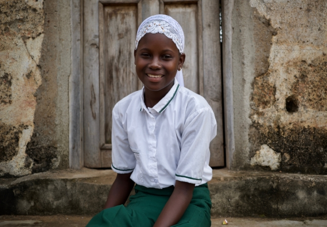Hassan, 12 years old , is a beneficiary of Street Child's 'Girls Speak Out' UK Aid Match appeal in 2016.