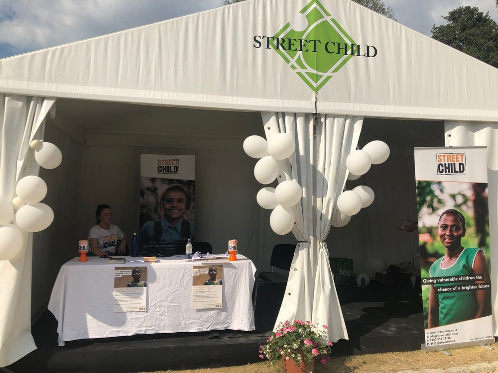Street Child had a ball at The Boodles Tennis… - With a Boodles pendant and a day's golf at Stoke Park as the grand prizes, the raffle tickets sold like hot cakes, raising a total of £4,280!