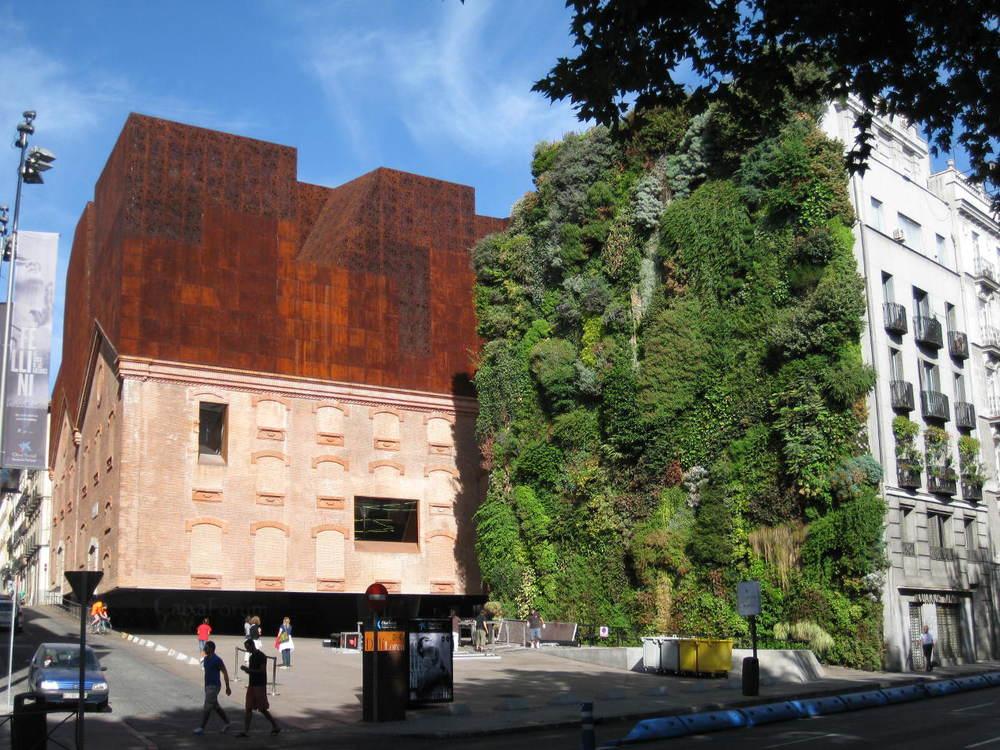 Patrick le Blanc Vertical Wall, Herzog de Meuron, Madrid