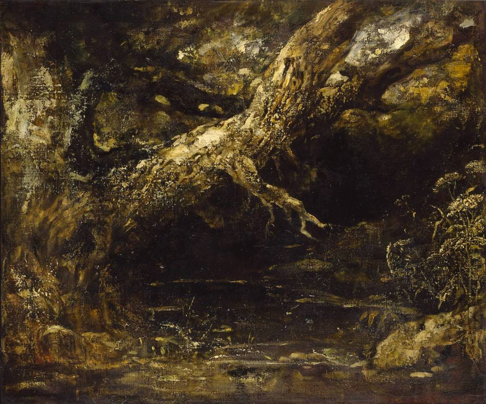 John Constable, Trunk and Lower Branches of a Tree