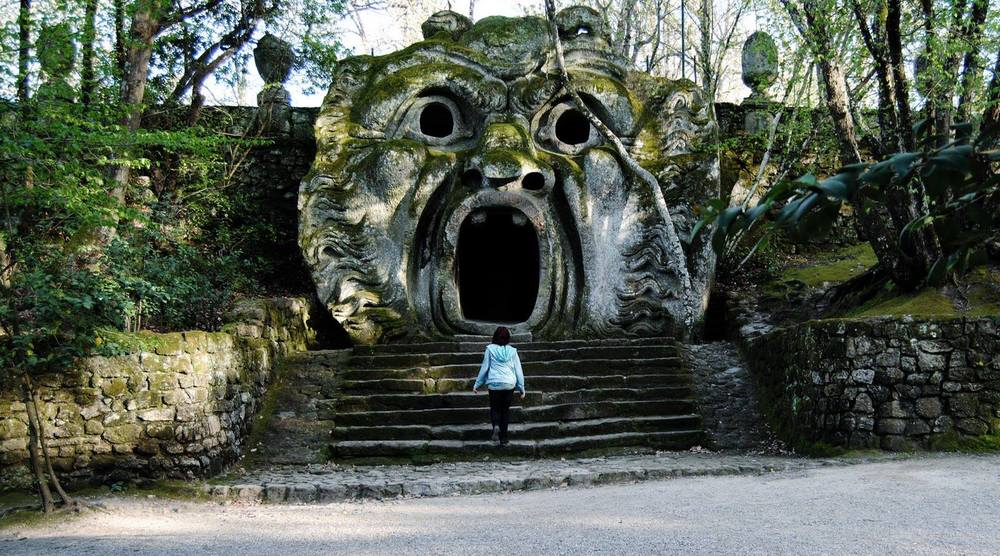 Mouth of Hell Pavilion at Bomarzo, The Park of Monsters