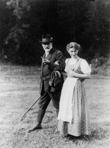 Sigmund & Anna Freud