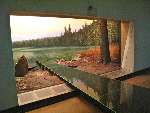 Modern diorama