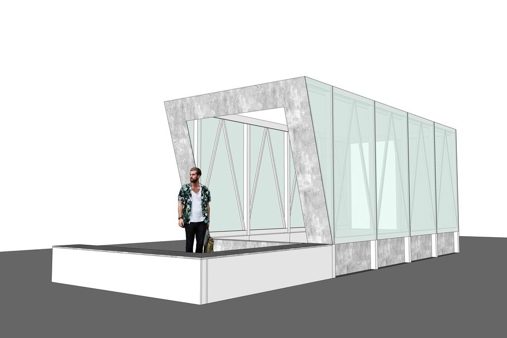 Modelling Cave Pavilion Sophie Walker RHS Chelsea