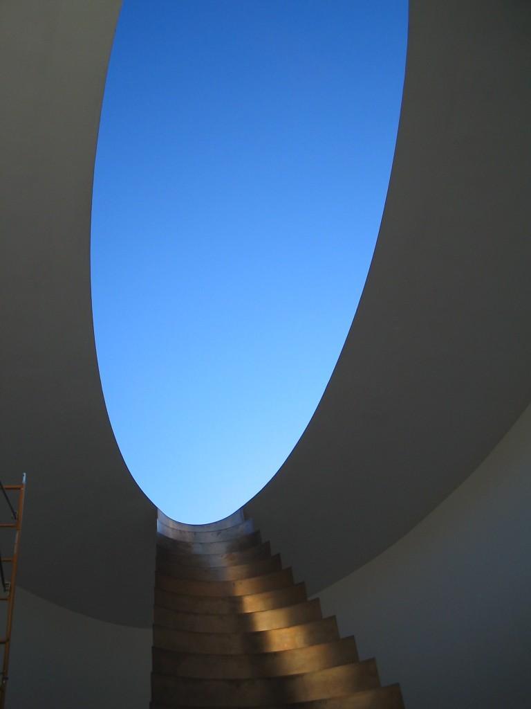 James Turrell, framed sky, Aqua De Luz, Tixcacaltuyub, Yucatan