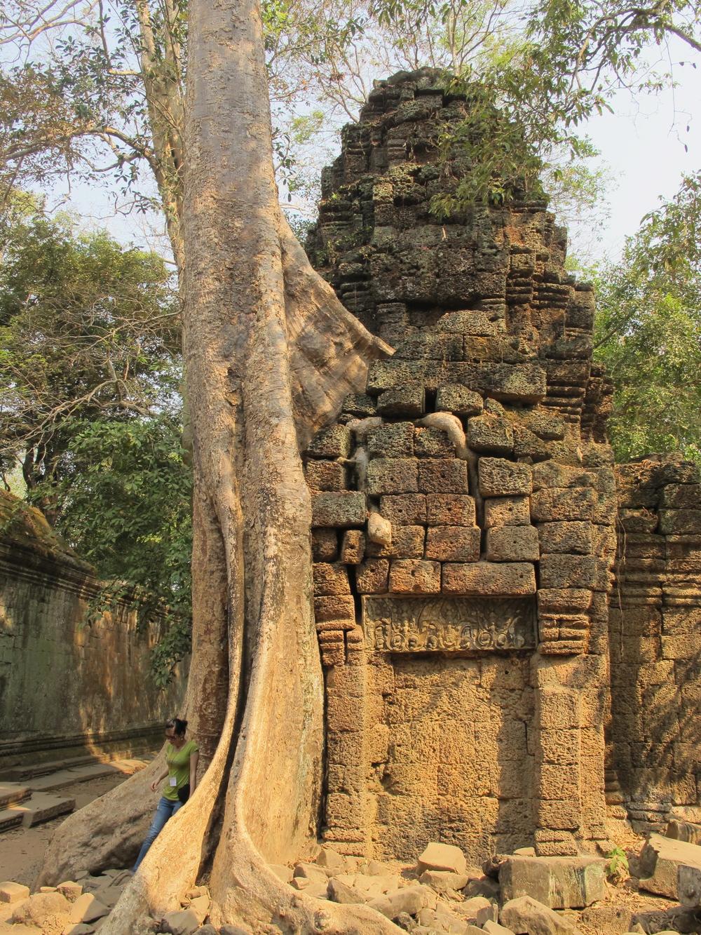 Near Angkor Wat, Cambodia