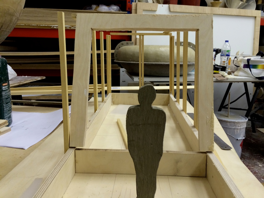 Model Making for Cave Pavilion RHS Chelsea