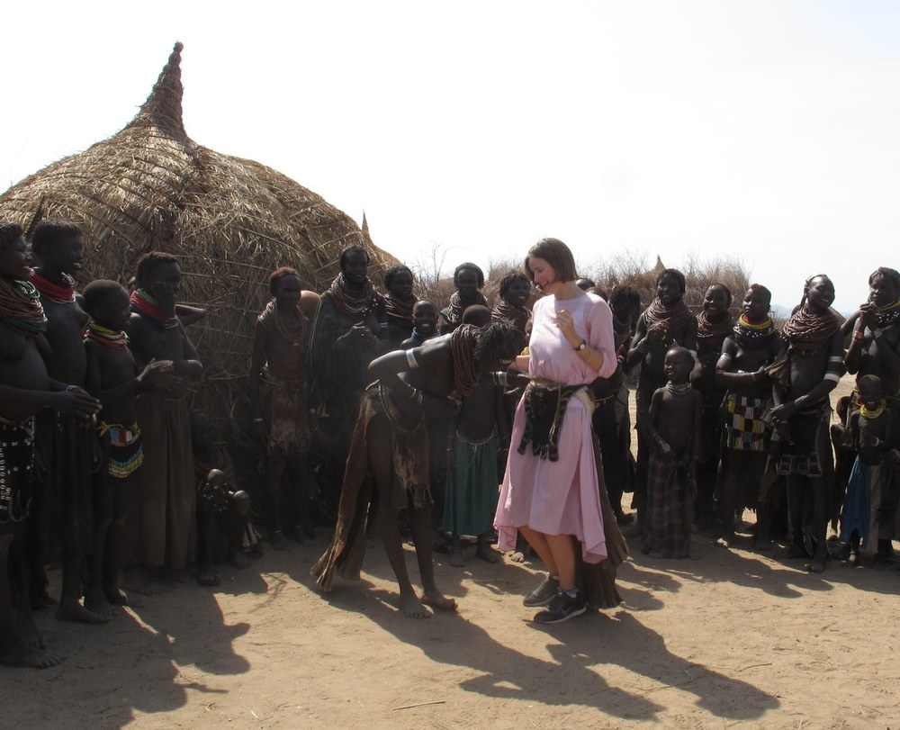 With the Nyamatong tribe in Ethiopia