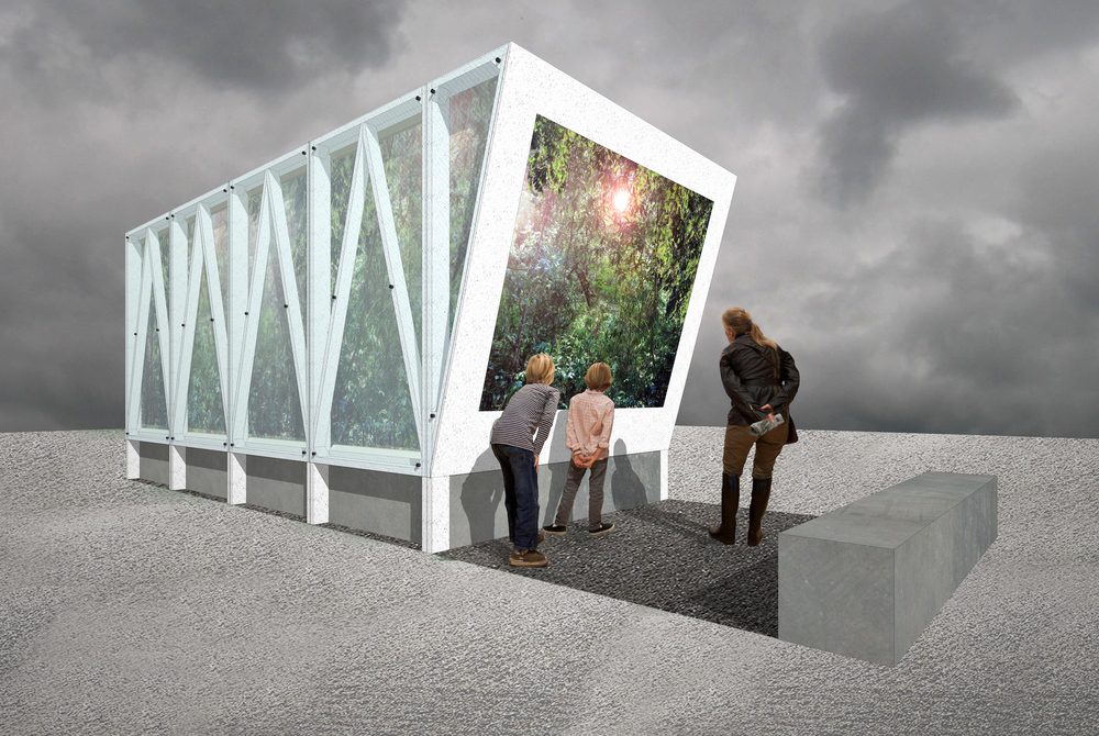Cave Pavilion in Support of The Garden Museum by Sophie Walker RHS Chelsea Flower Show 2014 Fresh Garden