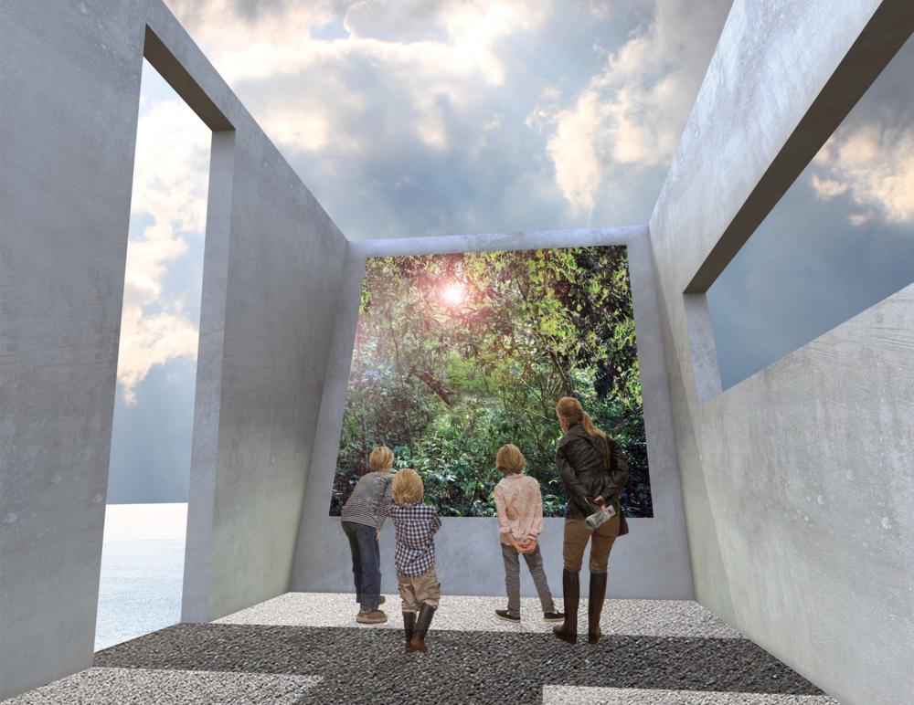 Cave Pavilion / Sophie Walker / RHS Chelsea Flower Show 2014