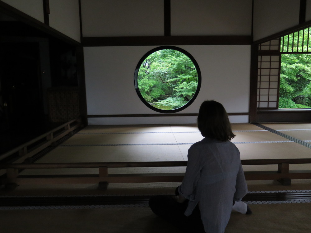 Sophie at Genko-an temple in Kyoto