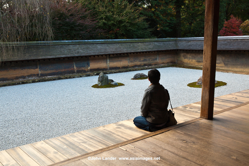 The platform of Ryoan-ji temple, Kyoto