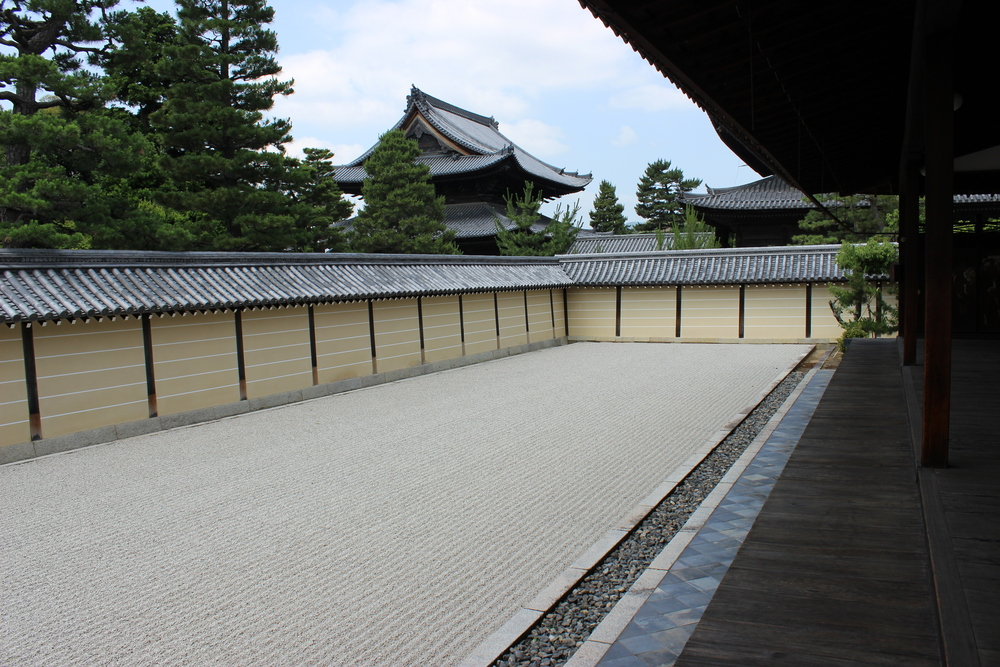 The Void Garden of Tokai-an, Myoshin-ji temple, Kyoto