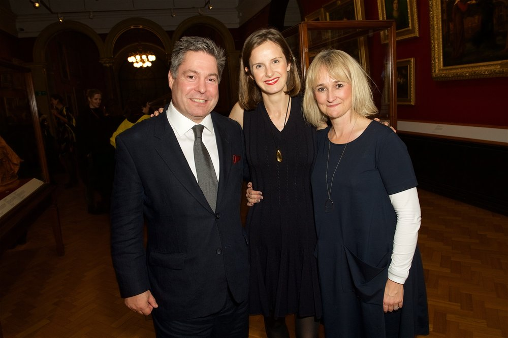 Phaidon CEO James Booth-Clibborn, Sophie Walker and Commissioning Editor Victoria Clarke