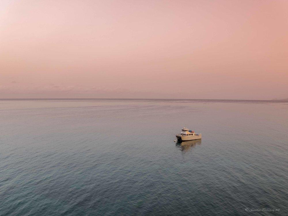 Nevis Four Seasons Boat