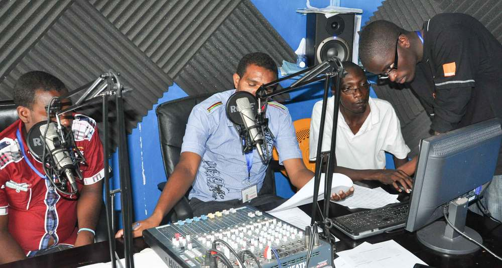 In station mentoring, Baliti FM, Isiolo County