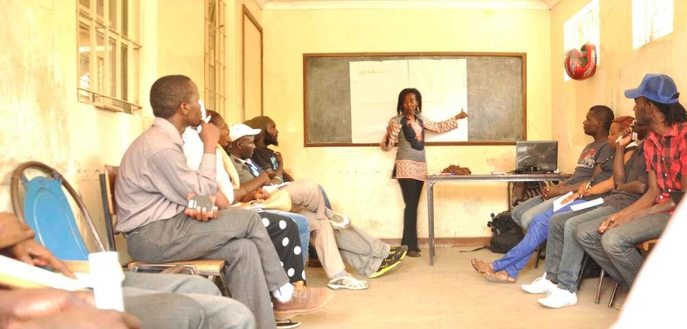 Radio production training; KOCH FM, Nairobi County