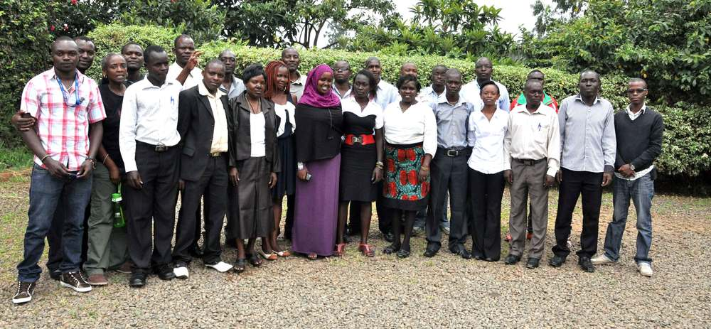 Representatives from 13 community radios that participated in the capacity building workshop on strengthening community radio identity and content    More information