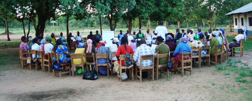 Strategic planning meeting with the 33 women groups(MCIDP) that own Mang'elete Community Radio