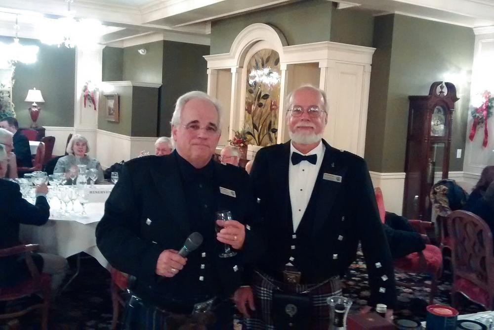 Whisky Masters Larry Kascht and Harold Hansen