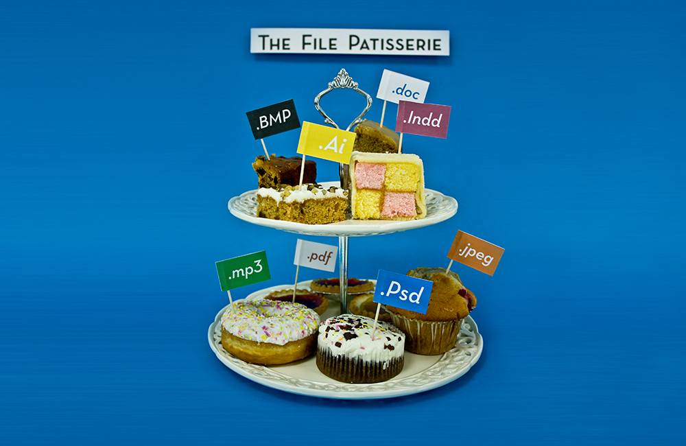 What if our files were presented on a digital cake stand?