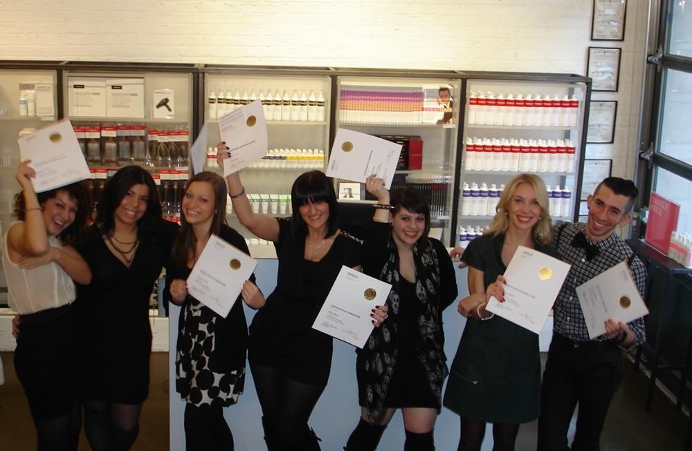 Class 3 Graduation � ARROJO cosmetology school