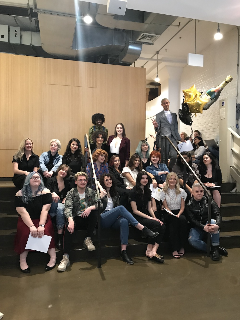 Classes 63 & 64 enjoy double graduation, putting new stylists into the industry