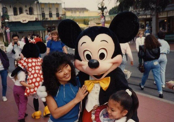 Disneyland, California, 1992.