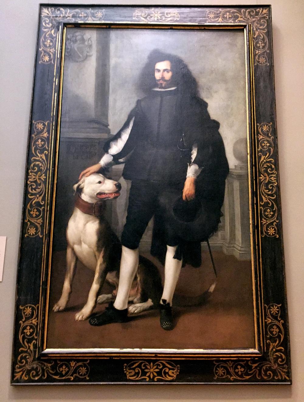 Don Andrés de Andrade y la Cal. Bartolomé Estebán Murillo. (Spanish, Seville 1617–1682 Seville) ca. 1665-72. Oil on canvas.