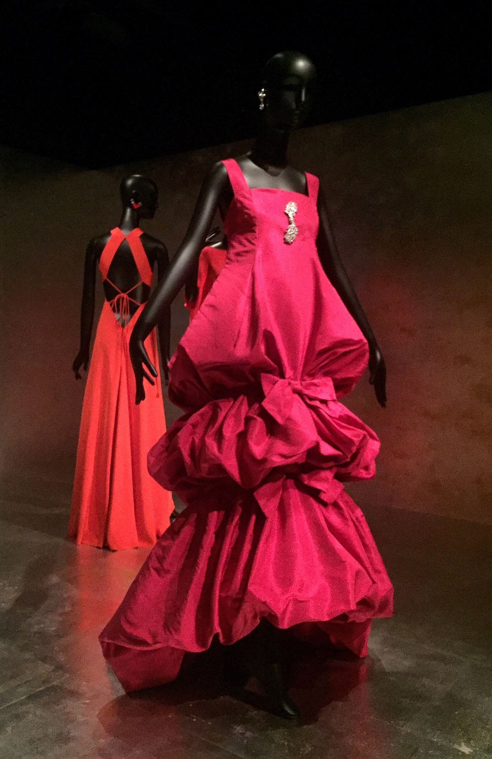 A Christian Dior haute couture gown owned by Jacqueline de Ribes.