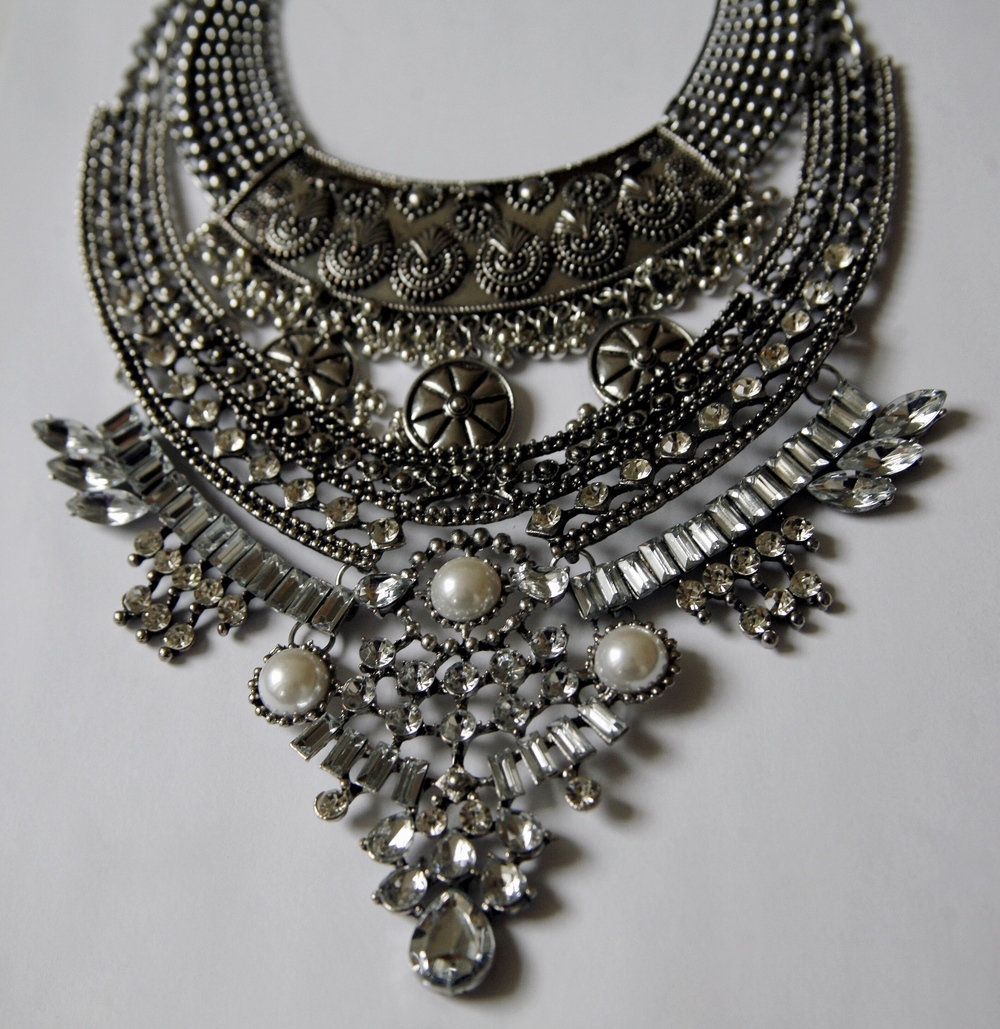 Khaleesi-inspired statement necklace from  Mirina Collections .